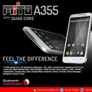 Touchscreen Mito A355 By Oneparts mito a355 harga fitur dan spesifikasi hp mito android a355
