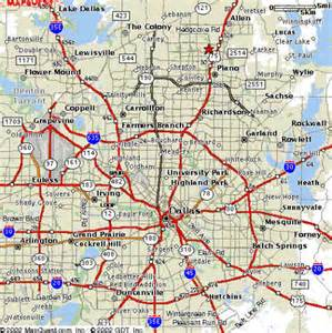 pin neighborhoods in dfw on