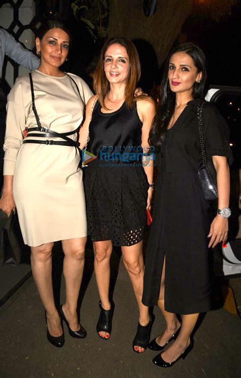 Korner House by Sussanne Roshan Sonali Bendre Anu Diwan Snapped Post