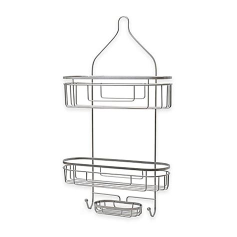 extra wide bathtub caddy buy org extra wide and extra long shower caddy in satin