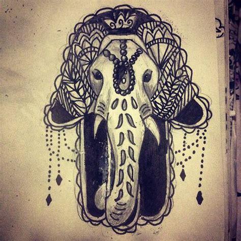 ganesh hamsa tattoo elephant hamsa drawing ideas pinterest hamsa