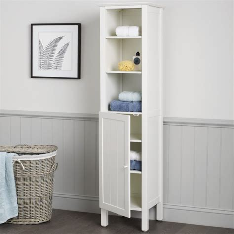 Tall Bathroom Storage Units Storage Ideas White Bathroom Storage