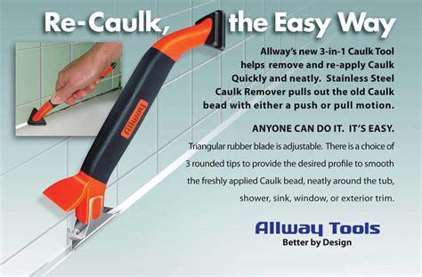 bathroom caulking tools 3 in 1 caulk tool allway tools ct31 awarehousefull