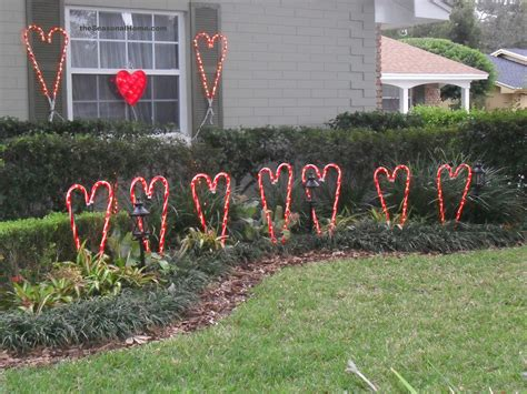 plastic candy cane yard decorations new twist on my yard decor 171 the seasonal home