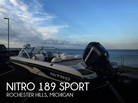 used nitro bass boats for sale in michigan used bass nitro boats for sale 3 boats