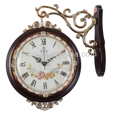 decorator wall clocks solid wood antique sided decorative wall clock