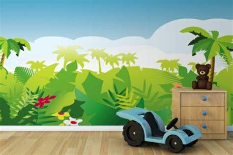 Kinderzimmer Fototapete Junge by Dschungel Kindertapete Kinderzimmer Gestalten
