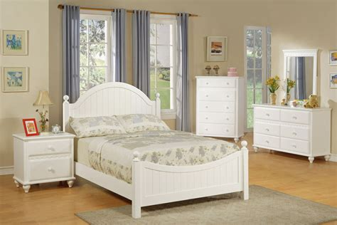 white twin bed set country style youth bed set white available in twin and