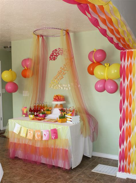 how to decorate a birthday party at home butterfly themed birthday party decorations events to celebrate