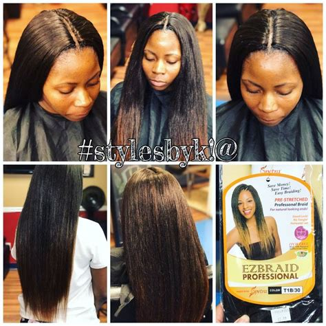 crochet hair straight straight crochet braids on natural hair using ez braid