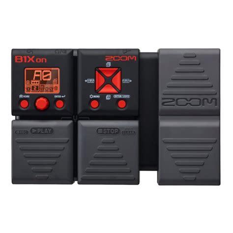 Perangkat Elektronik Zoom B1xon Bass Multi Effect Pedal zoom b1xon bass multi effects processor w expression