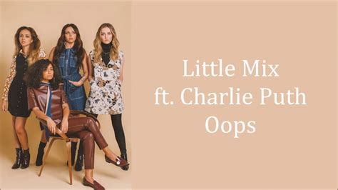download hair by little mix mp3 download mp3 little mix oops ft charlie puth lyrics
