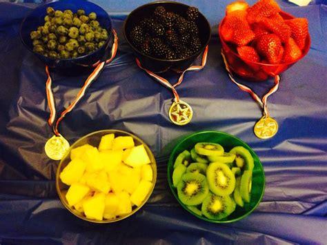 fruit olympics fruit bowls olympic rings olympic 2013