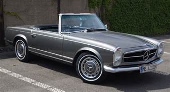super cars news mercedes benz w113 230 sl pagode