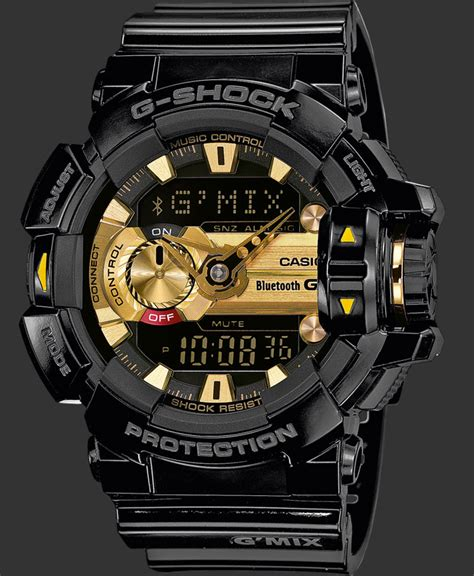 Gshock Gba 400 Black Gold g shock watches bluetooth 174