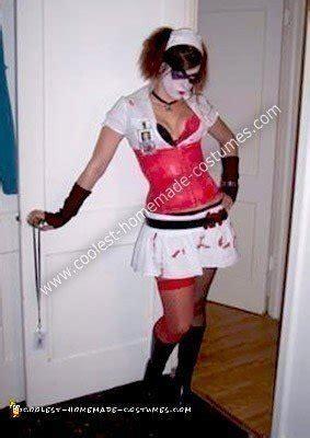 Handmade Harley Quinn Costume - original harley quinn costume