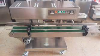 bag and seal machine heat sealer equipment vertical plastic bags sealing
