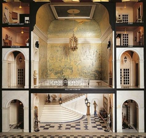 queen marys doll house part of queen mary s dollhouse dollhouses pinterest