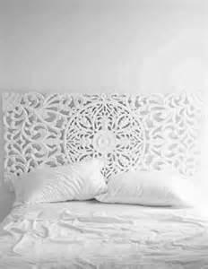 Large White Headboard Large White Headboard Or Wall Panel Wall Hanging