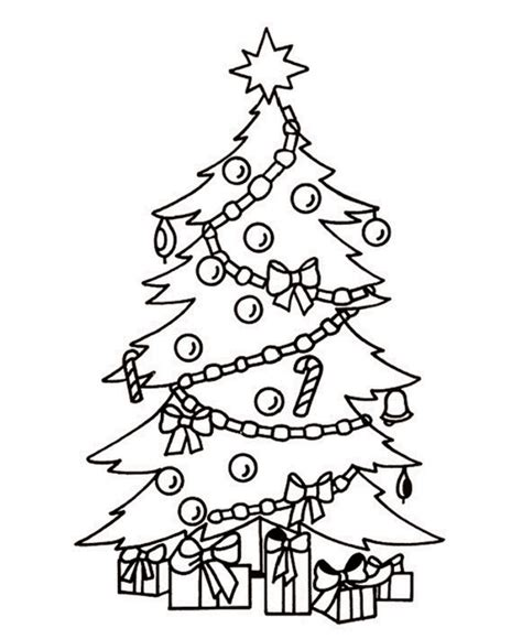 coloring pages on christmas tree arbol guatemala coloring coloring pages