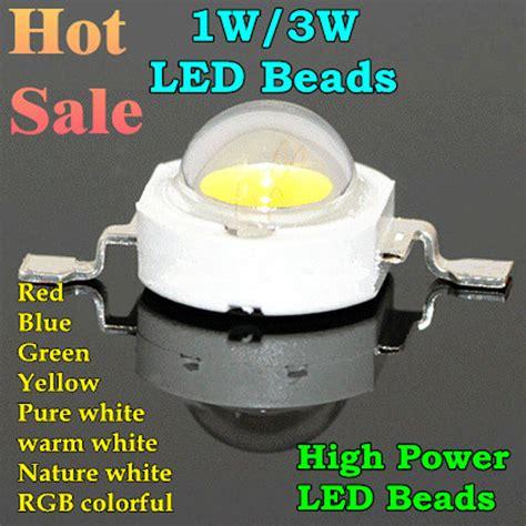 Krisbow Bohlam Led Warm White 3w high power led 1w 3w bulbs 30mli 45mli 1w 3w led chip rgb white warm white nature white