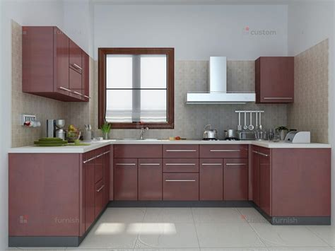 Kitchen Cabinets Mahogany by Modular Kitchen Designs
