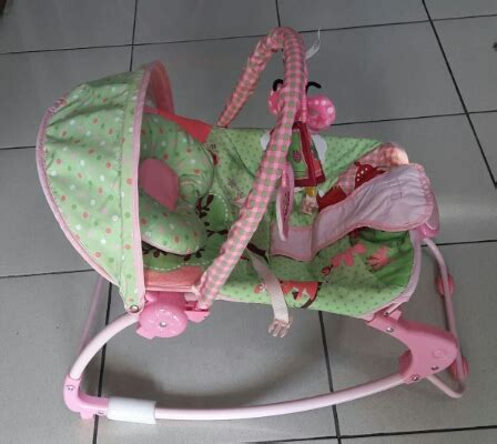 Best Baby Bouncer Bayi Sugar Baby Premium Rocker Rainbow Forest sewa sugar baby premium rocker bouncer 10 in 1 nyewain
