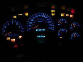 all warning lights flash on dash of chevy trailblazer 2003
