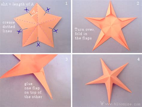 Paper Folding Step By Step - galaxy of origami bloomize