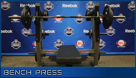 bench press nfl combine should pitchers bench press
