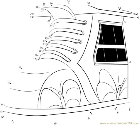 shoe house coloring pages shoe house drawing