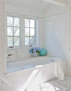 white bathroom subway tile subway tile shower surround transitional bathroom