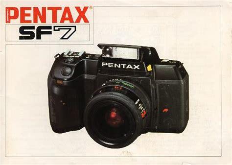 Pentax Sf 7 Instruction Manual User Manual Free Pfd