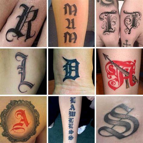 tatuaggi lettere gotiche tatuaggi lettere 100 foto e idee bellissime beautydea