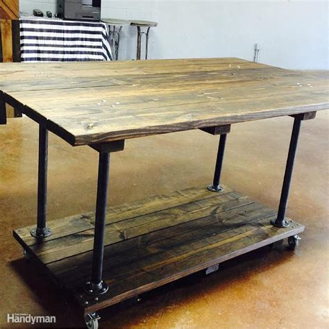 work bench nyc work bench rustic home made rolling work bench laluz nyc