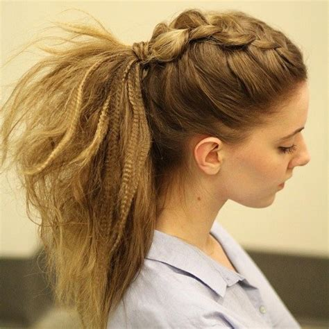 casual pony hairstyles 30 easy and stylish casual updos for long hair