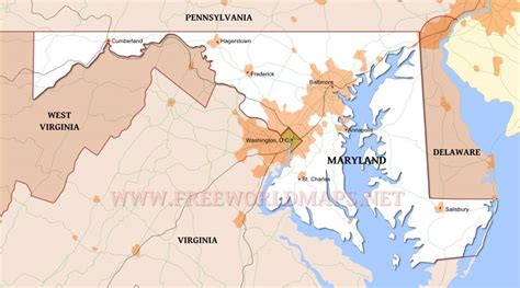 united states map of maryland maryland maps