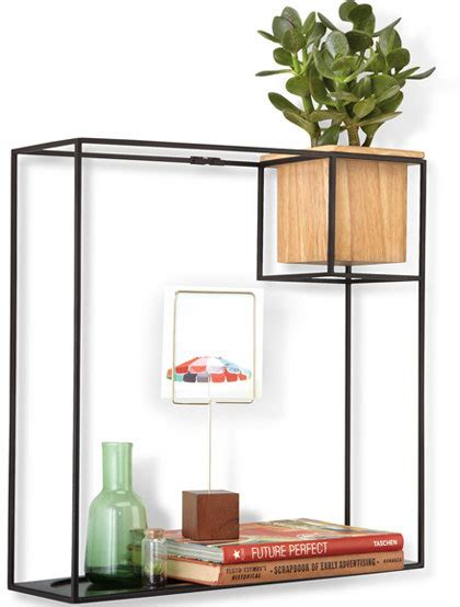 Large Shelves Bookcases by Umbra Cubist Shelf Large Bookcases And Shelves
