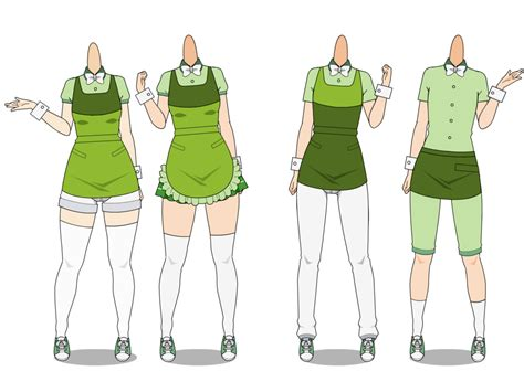 design your own cafe uniform kise cafe uniforms by mother nightingale on deviantart