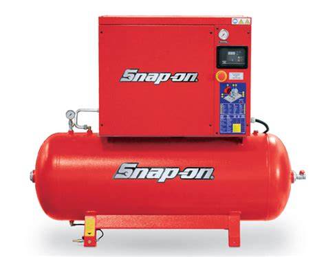 73 gallon 8 hp 125 psi 3 phase horizontal rotary air compressor