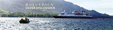 silversea cruises discoverer silversea s silver discoverer cruise ship 2018 and 2019