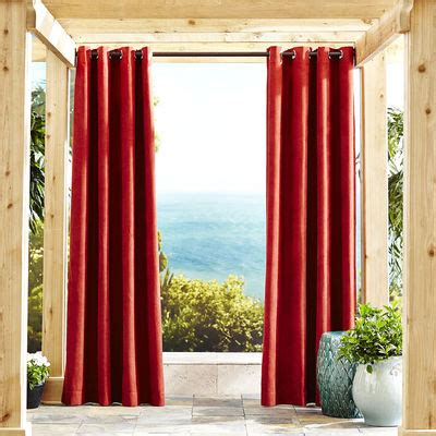 spice curtains calliope spice grommet curtain pier 1 imports