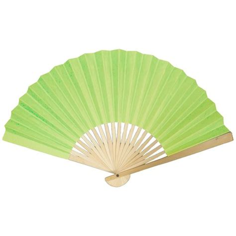 Paper Fans - colored paper fan