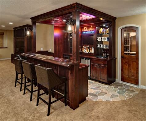 Home Basement Bar How To Set Out A Funky Home Bar