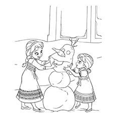 baby elsa coloring pages 50 beautiful frozen coloring pages for your little