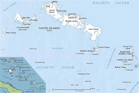 turks and caicos world map large detailed political map of turks and caicos islands