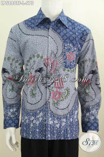 Size Baju Executive baju kemeja batik modis halus mewah trend masa kini produk pakaian batik istimewa buatan
