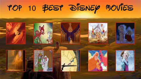 image gallery new disney cartoon movies my top 10 fav walt disney animation movies by sonic2125