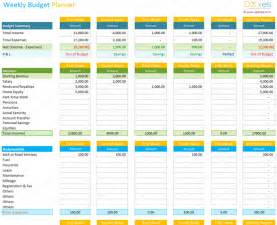 weekly budget template weekly budget calculator dotxes