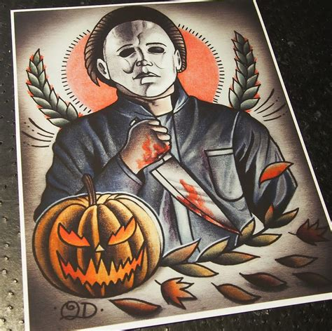 tattoo old school halloween traditional tattoo flash meets horror the art and
